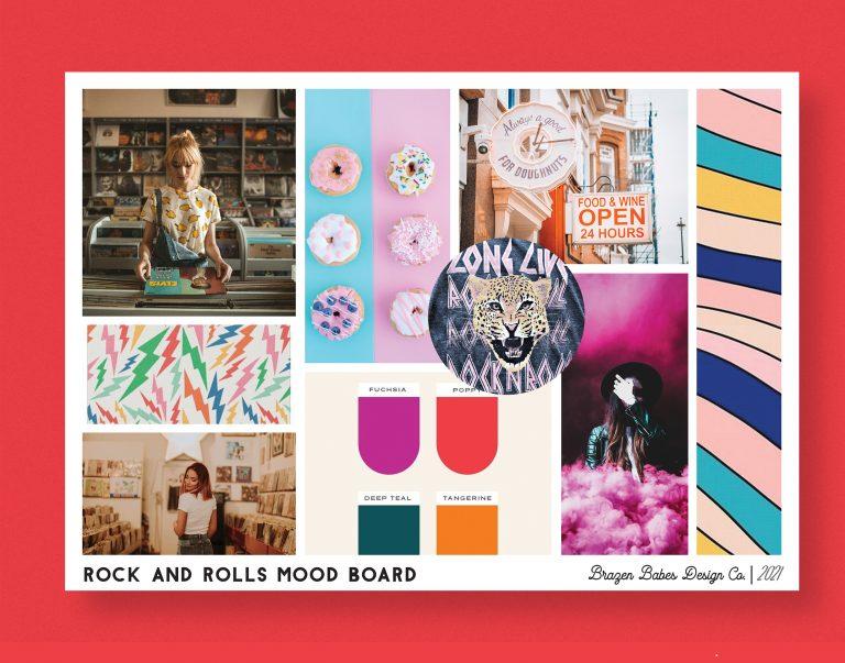 Rock & Rolls Mood Board