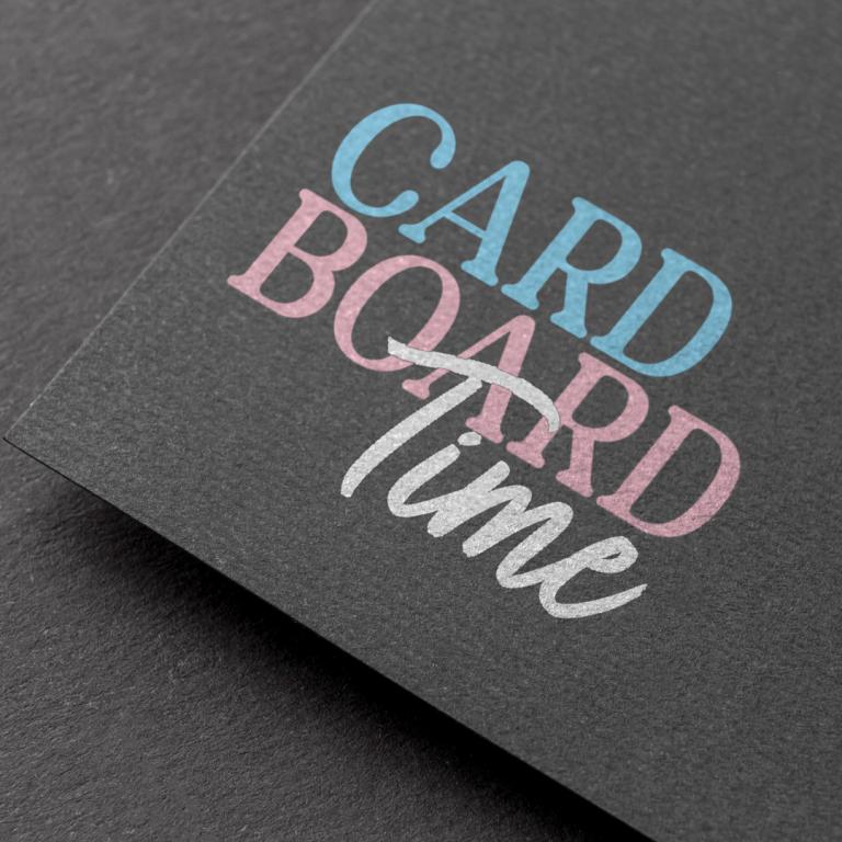 Cardboard Time Podcast Logo